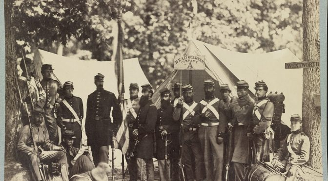 Nowe rzeźby – milicja Unii w roku 1861 / New sculpts Union militia in 1861