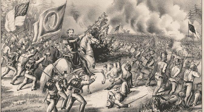 Bitwa pod Seven Pines / Battle of Seven Pines