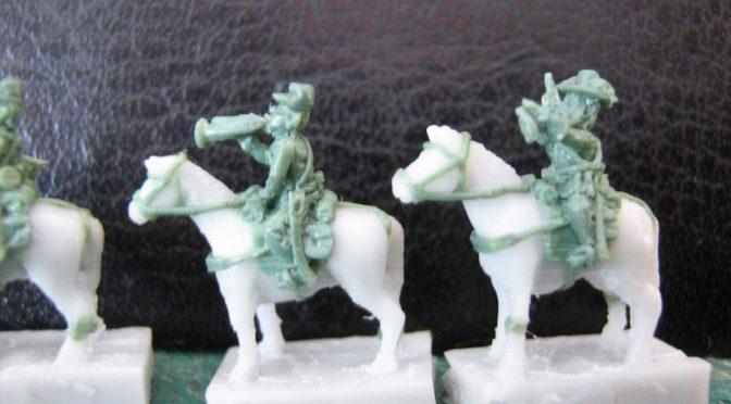 Kawaleria do wojny secesyjnej w skali 6 mm / ACW cavalry in 6 mm