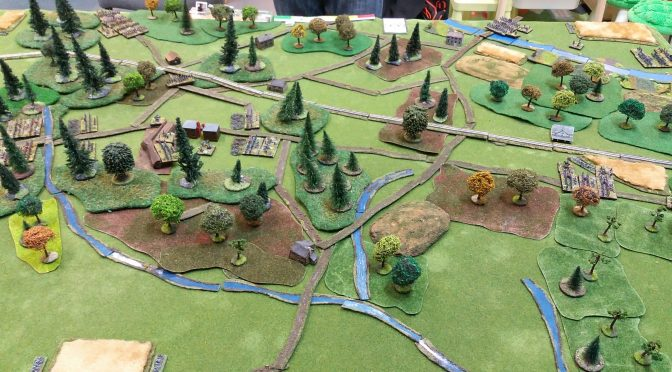 Bitwa pod Seven Pines – wideo raport bitewny / Seven Pines battle video AAR