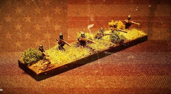 Premiera zestawów żuawów i piechoty w pozycjach strzelających w skali 6 mm / New sets of ACW zouaves and infantry in skirmish line 6 mm scale are available in our shop!