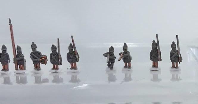 Brytyjczycy w skali 6 mm na przełom lat 1850/1860 / British army in 6 mm for 1850/60s.