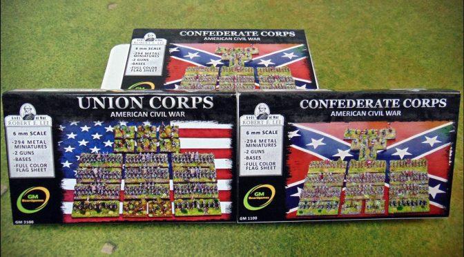 Zestawy korpuśne dla Unii i Konfederacji / ACW Corps sets for Union and Confederacy
