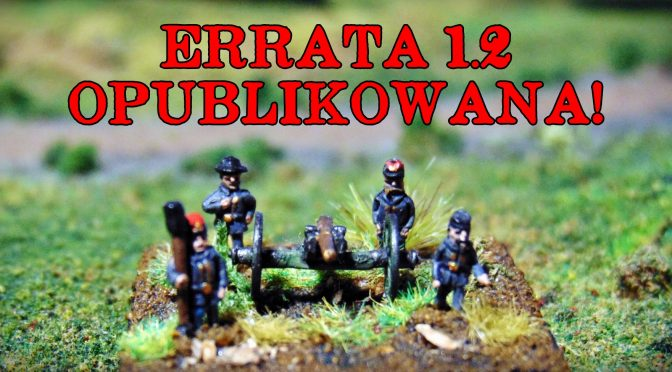 Errata 1.2 do BW: Lee opublikowana! / An erratum for Gods of war: Lee (PL version) is published!