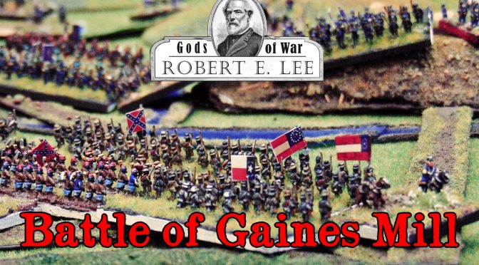 Bitwa pod Gaines Mill – film / Battle of Gaines Mill – a movie