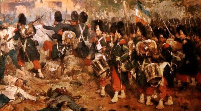 Przedsprzedaż francuskiej gwardii, Karabinierów i Lansjerów